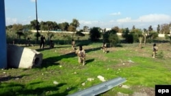 Իրաք - «Իսլամական պետության» զինյալները Մոսուլում վարժանքների ժամանակ, նոյեմբեր, 2014թ․