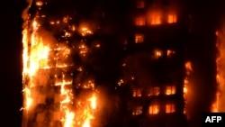 İyunun 14-də Londonun mərkəzindəki Grenfell göydələni dəqiqələr ərzində yanıb