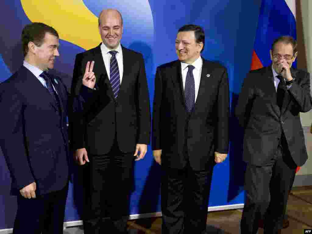 В Стокгольме открылся саммит Россия - ЕС