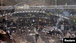 خشونتهای دو روز اخیر در اوکراین دستکم به مرگ ۷۵ نفر انجامیده است