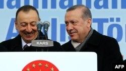 İlham Əliyev və R.T.Erdoğan
