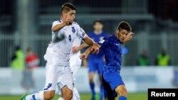 Ndeshja e futbollit Kosovë-Kroaci, e luajtur në Shkodër