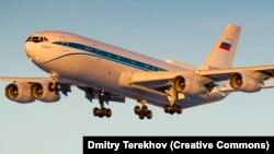 Rusiya Federal Təhlükəsizlik Xidmətinin hava komanda mərkəzi İl-96-400VPU təyyarəsi
