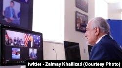 مدني فعالانو او ځوانانو سره د استانبول کنفرانس د چمتووالي په اړه د زلمي خلیلزاد خبرې
