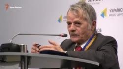 Джемілєв: Необхідний невійськовий шлях звільнення Криму (відео)