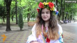 Флешмоб ко Дню крымскотатарского флага