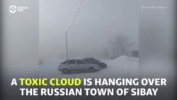 Locals 'Cough Up A Lung' As Toxic Cloud Hangs Over Russian Town
