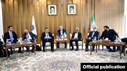 Iran - Senior Iranian and Armenian government officials hold talks in Tehran, June 29, 2021.