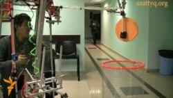 Қазақ студенттерінің роботтары