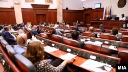 Седница на македонското собрание