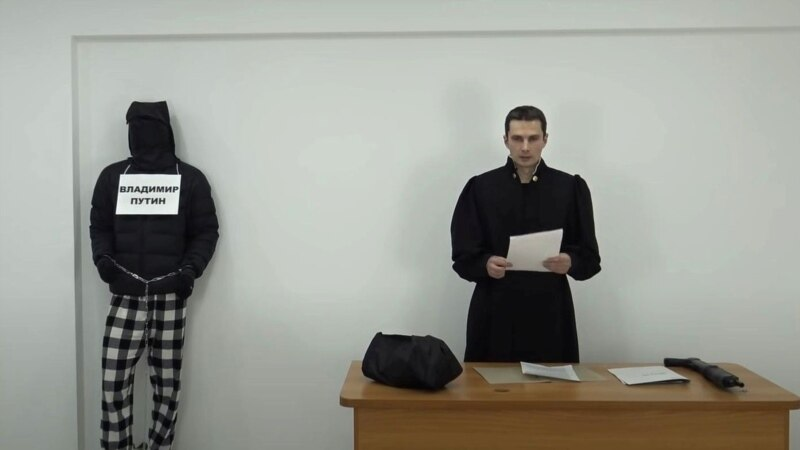 Russian  Activist Convicted Of Mocking Putin Released