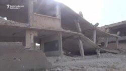 Air Strikes Hit North Of Homs, Syria