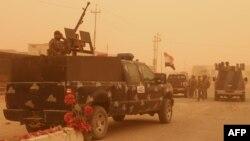 نیروهای ارتش عراق در رمادی