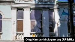 Здание меджлиса крымских татар в Симферополе