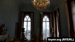 Голубая гостиная Воронцовского дворца, июль 2020 года