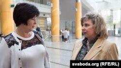 Валерія Лутковська та Тетяна Москалькова