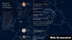 МАПА СТАНАЎЛЕНЬНЯ БЕЛАРУСІ (map.letapis.by)