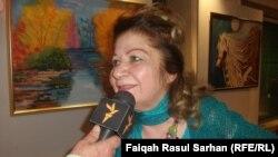 الفنانة مهين الصراف