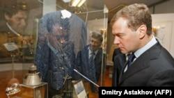 Dmitry Medvedev is Russia's only living former president.