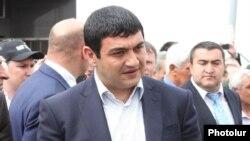 Armenia - Abovian Mayor Karapet Guloyan, 5Apr2013.