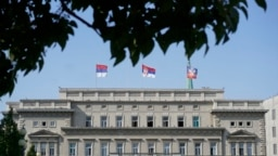 Skupština Grada Beograda jedna je od institucija na kojoj su 15. septembra istraknute zastave Srbije