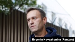 Russian opposition leader Alexei Navalny (file photo)