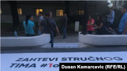 Protest 'Jedan od pet miliona' u Beogradu, avgust 2019.