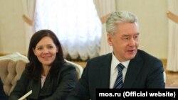 Анастасия Ракова и Сергей Собянин