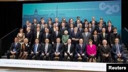 Fotografi arkivi nga një takim i mëparshëm i G20-ës