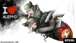 Алексей Кустовский салған карикатура.