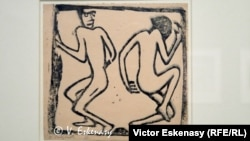 Christian Rohlfs, Cuplu dansînt (ca. 1913)