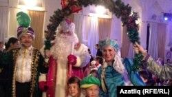 Детский новогодний праздник в Москве (архивное фото)