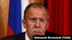 Голова МЗС Росії Сергій Лавров
