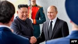 Встреча президента России Владимира Путина и лидера КНДР Ким Чен Ына, Владивосток, 25 апреля 2019 года