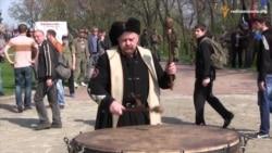 У Чигирині добровольці АТО вшанували холодноярських повстанців
