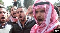 Протест в Иордании в связи с сожжением пилота