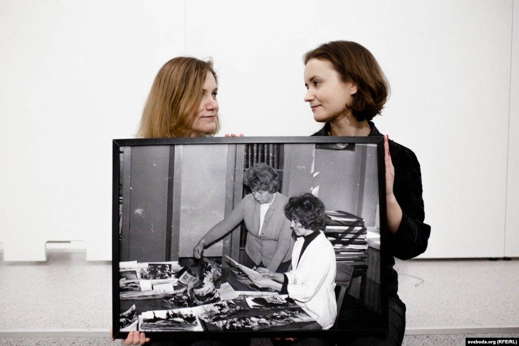 Антаніна Сьцебур і Ганна Самарская