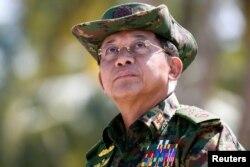 Мін Аўнг Глайнг, галоўнакамандуючы Ўзброенымі сіламі М'янмы