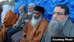 أعضاء في جماعة الإخوان المسلمين في إحتجاج بالقاهرة