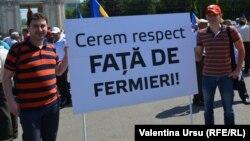 Protestul ferimierilor la Chișinău, mai 2014