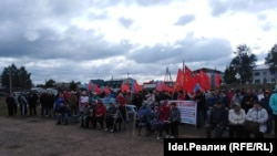 На акции были и жители соседних регионов