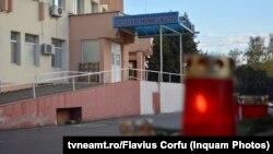 Spitalul Județean din Piatra Neamț, unde 10 pacienți de Covid-19 au murit într-un incendiu la secția ATI unde erau intubați.