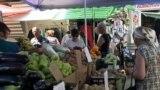 La piața din Căușeni