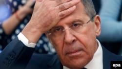 Ministrul rus de externe Serghei Lavrov
