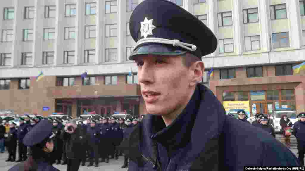 Управління патрульної поліції Івано-Франківська очолив лейтенант Дмитро Міхалець із Хмельниччини