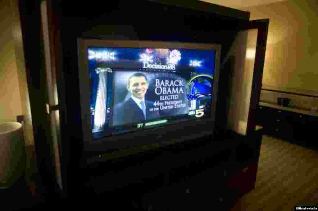 باراک اوباما در انتخابات رياستجمهوری آمريکا به پيروزی میرسد.