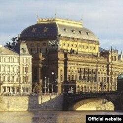 Vedere a Teatrului Național praghez