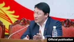 Депутат Жогорку Кенеша КР Кенжебек Бокоев.