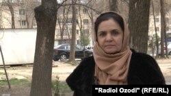 Қутосбӣ Раҳматова, раиси шаҳраки 92-и шаҳри Душанбе.