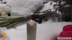 Ծաղիկներ ու մատիտներ՝ ի հիշատակ փարիզյան ահաբեչկության զոհերի